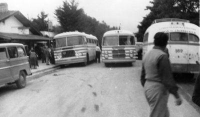Avenida Roca en los años 60.