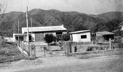 Avenida San Martín en los años 60.